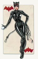 CATWOMAN Signed Lithograph by Billy Tucci