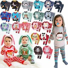 """2017 New Collection"" Vaenait Baby Infant Kid Boy Girl Clothes Pajama Set 12M-7T"