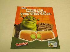 Hostess Twinkies Shrek Sales Folder