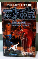 The Lost City of Zork! Book by Robin W. Bailey! First Edition - Printed in 1991!