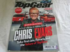 Top Gear August Cars, 2000s Transportation Magazines