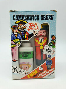 Camberwick Green Vintage Foam Bath & Talc Gift Pack - Good Vintage Condition