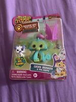Animal Jam Lucky Monkey & Pet Puppy Toys Kids New In Box