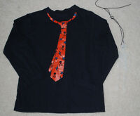 Boys Dinosaur Rock Thermal T-shirt Long Sleeve 4 5//6 7 glows in dark NWT guitar