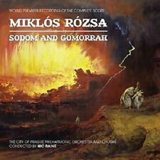 SODOM & GOMORRAH - 2CD COMPLETE SCORE - LIMITED EDITION - MIKLOS ROZSA