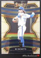 Bo Bichette Rookie Card 2020 Panini Select Baseball RC #7 Toronto Blue Jays