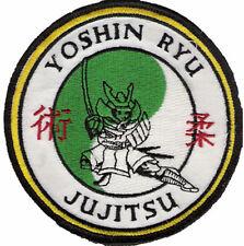 BRAND NEW! Yoshin Ryu Jujitsu Jiu Jitsu BJJ Jujutsu Judo MMA UFC Samurai Patches
