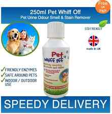 Pet Whiff Off Dog & Cat Urine & Odour Remover 250ml - Artificial Grass Cleaner