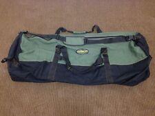 "Outback Men's Heavy-Duty MEDIUM Canvas Duffle Bag Travel Luggage 24""x 16"" UVG"