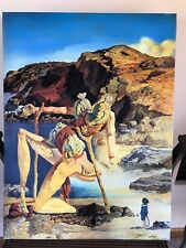 "SALVADOR DALI GICLEE  ON CANVAS 19.5"" X 26""  #35/300"
