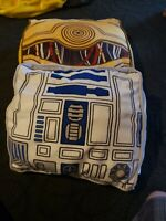 Starwars C3PO and r2d2 Pillow set