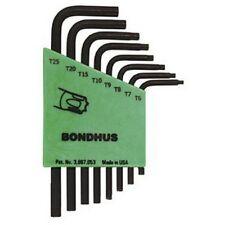Bondhus 31732 8pc Set Star L-Wr S Arm -T6-T2