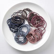 20-100pcs High Quality Elastic  Hair Tie Band Rope Ring Ponytail  *AU Post*