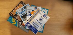 Leeds United Home Programmes Teams M to Z
