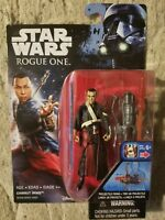 "Disney Hasbro Star Wars Rouge One Collectible 3.75"" action figure Chirrut Imwe"
