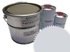 3 Liter Set 2k revestimiento de pisos RAL 7035 GRIS CLARO Brillo Pintura Taller