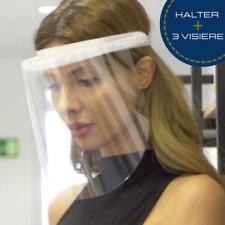 Ergonomisches Gesichtsschutz Visier Aufklappbar Face Shield  mit 3 Wechselfolien