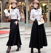 New-Ladies-Elegant-Wool-Long-Winter-Skirt-Sz XS-S (2-4)