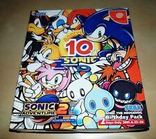 Sega Dreamcast Sonic 10th Anniversary Birthday Pack JAPAN NTSC