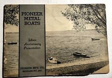 1940s Pioneer Metal Boats Catalog Lots of Boat Styles