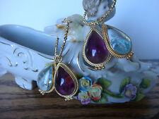 TAGLIAMONTE (316A,315C) 2SET of 925SS /YGP/Venetian Charm Earrings *W/ HOOPS*