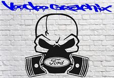 FORD RACING STICKERS voiture fenêtre Ford Vinyle Sponsor Autocollants Pare-chocs