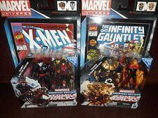 Marvel Universe lot THANOS & ADAM WARLOCK GAMBIT & MISTER SINISTER COMIC RARE