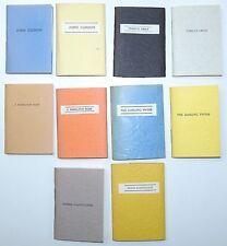 5 ROBERT MERRIAM MINIATURES Miniature Conway Massachusetts 1/1000 SIGNED 1976-80