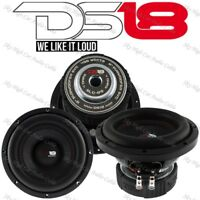 """DS18 SLC 8S 8"""" Inch Subwoofer 400 Watts Max Power 4 Ohm Sub Select Series"""