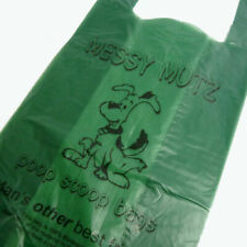 More details for dog poo poop waste bags eco friendly recyclable biodegradable polythene tie top