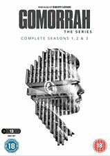 Gomorrah Complete Season Series 1, 2 & 3 DVD Box Set R2 New Sealed