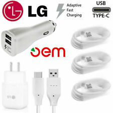 For LG G5 G6 G7 Stylo 4 V20 Original Adaptive Rapid Fast Charger Type C Cable