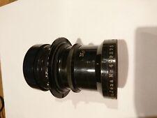 Carl Zeiss Jena 25cmF6.3 Tele Tessar IV Vintage Black Uncoated Lens