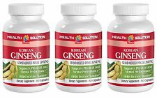 Help Sexual Problems in Males - Korean Ginseng 350mg - Siberian Ginseng 3B