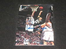 DONNIE BOYCE ROOKIE DRAFT CERTIFIED AUTHENTIC SIGNED AUTOGRAPHED BASKETBALLCARD