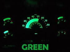 88 91 Chevy GMC C/K Series Truck Gauge Cluster LED Dashboard Bulbs Green