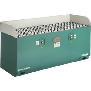 """Grizzly G0631 28"""" x 79"""" Extra Long Downdraft Table"""