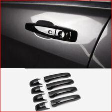 FOR jeep Grand Cherokee 2011-2020 ABS black exterior door handle cover trim 8pcs