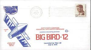 1976 Vandenberg AFB California Big Bird-12 SAMOS 107 Event Cover