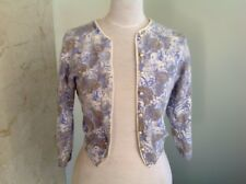 vintage French Angora 1950s cardigan
