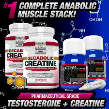 2 MONTH CYCLE TESTO ANABOLIC +DECABOLIC CREATINE -STRONG LEGAL NO STEROIDS STACK