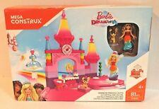 Mega Construx Barbie Dreamtopia Rainbow Princess Castle Building Toy for Girls