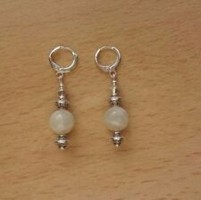 Handmade Moonstone Drop/Dangle Fine Earrings