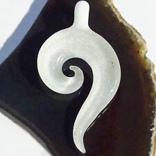 KORU MAORI 8 GLAS Anhänger dichroitisch dichroic Pendant Edel