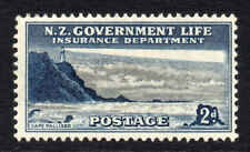 New Zealand 2d Life Insurance Stamp c1947-65 Mounted Mint Hinged (2951)