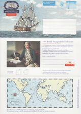 GB Stamps Aerogram / Air Letter APS125 - 1st NVI Captain Cook, map Issue 1997