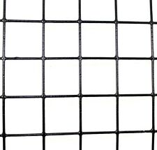 "2' x 100' Welded Wire PVC Coated Galvanized 1.5"" x 1.5"" Fence 14 ga"