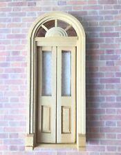 HALF SCALE PALLADIAN SPLIT DOOR  1:24 Dollhouse miniature   #H6016 Houseworks