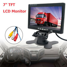 7''TFT LCD Screen For Car Monitor Reversing Rearview Backup Camera Rear View DVD