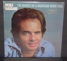 Merle Haggard I'm Always On A Mountain When I Fall SEALED vinyl LP record cut